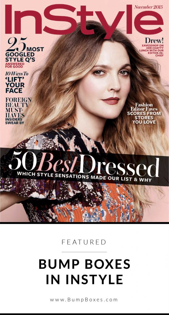 Bump Boxes: Featured in InStyle Magazine!