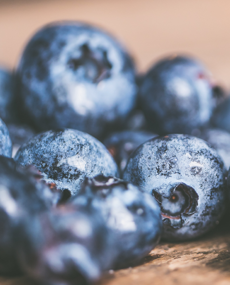Blueberry Fizz Pregnancy Mocktail