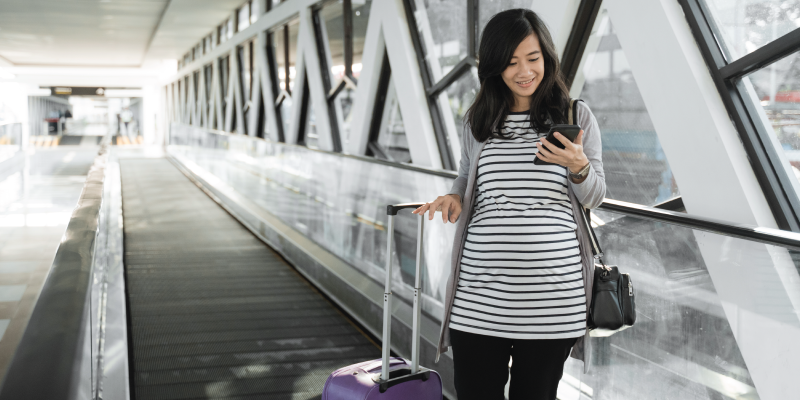 Five Tips for Traveling While Pregnant