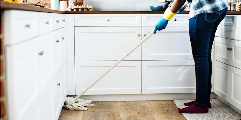 20 Minutes to a Clean House for New Moms