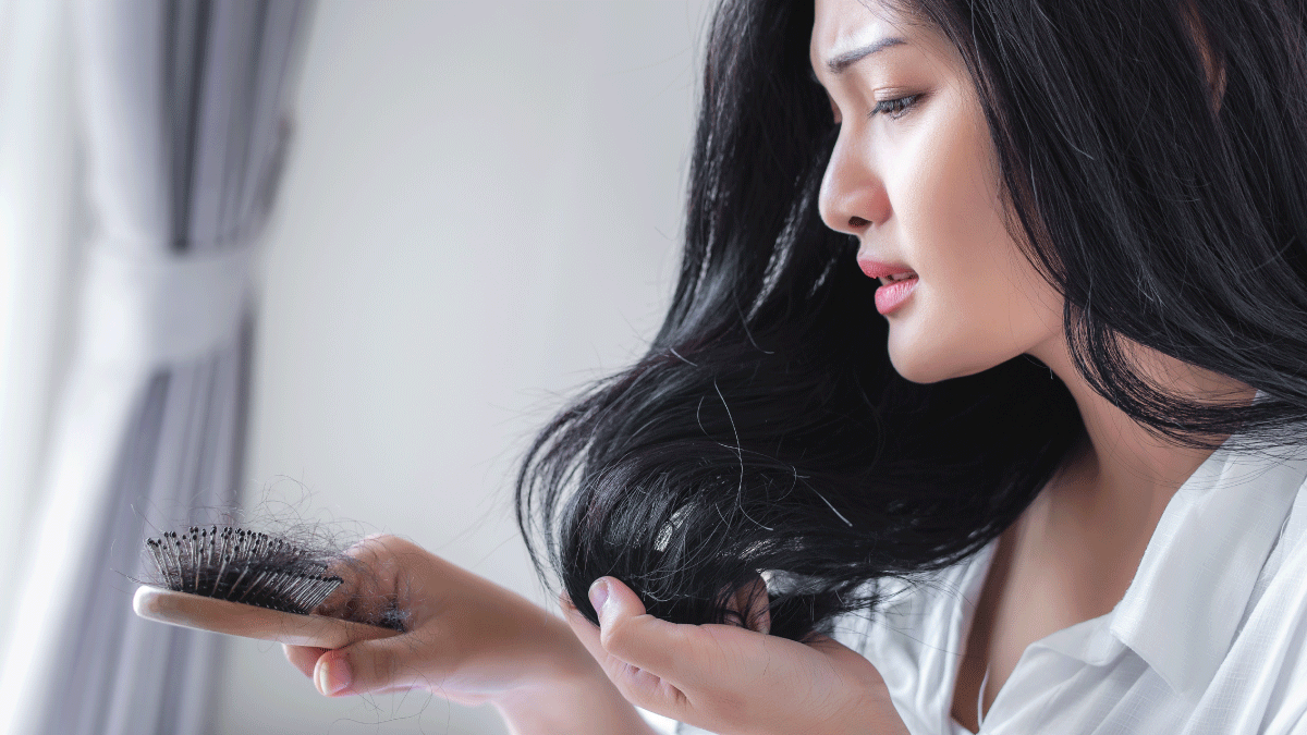 Postpartum Hair Loss : How to Deal