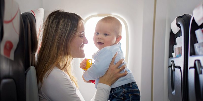 The Mile Cry Club: Traveling With A Newborn