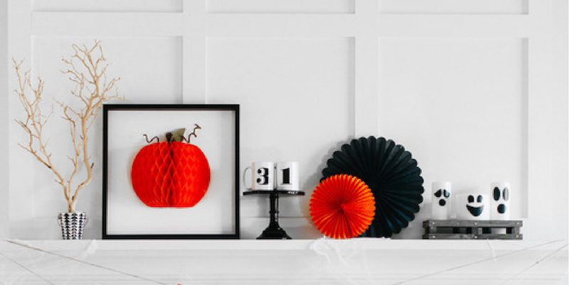Top Halloween Mantel Ideas