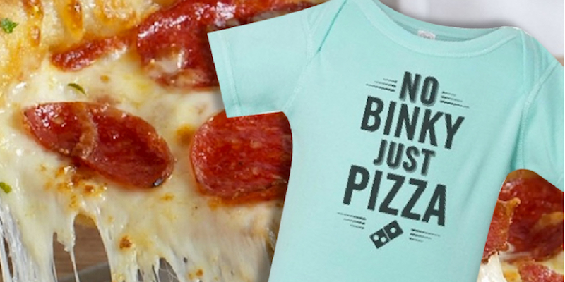 Introducing the Domino's Baby Registry!