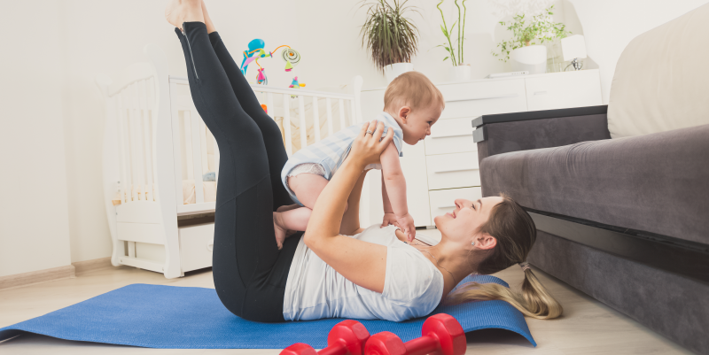 5 Reasons You Aren't Losing the Baby Weight